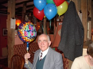 Ron at his 70th Birthday Party