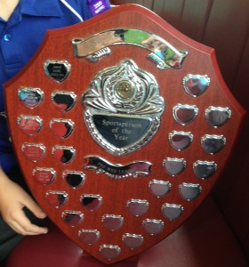 Ron Brockless Shield
