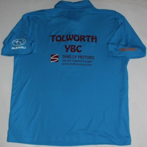 Tolworth YBC 2014 Shirt - Back