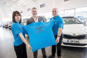 Shelley Motors Epsom with Tolworth YBC shirts